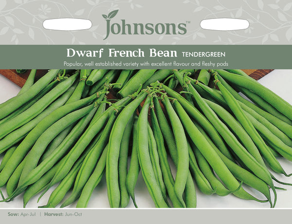 Johnsons 121020 Phaseolus vulgaris - Dwarf Bean Tendergreen - French Bean