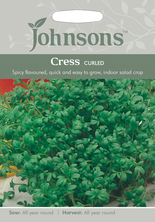 Johnsons 121026 Lepidium sativum - Cress Curled