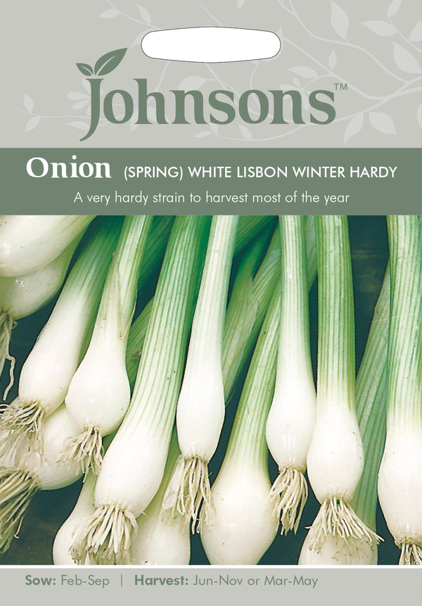 Johnsons 121027 Allium cepa - Onion (Spring) White Lisbon