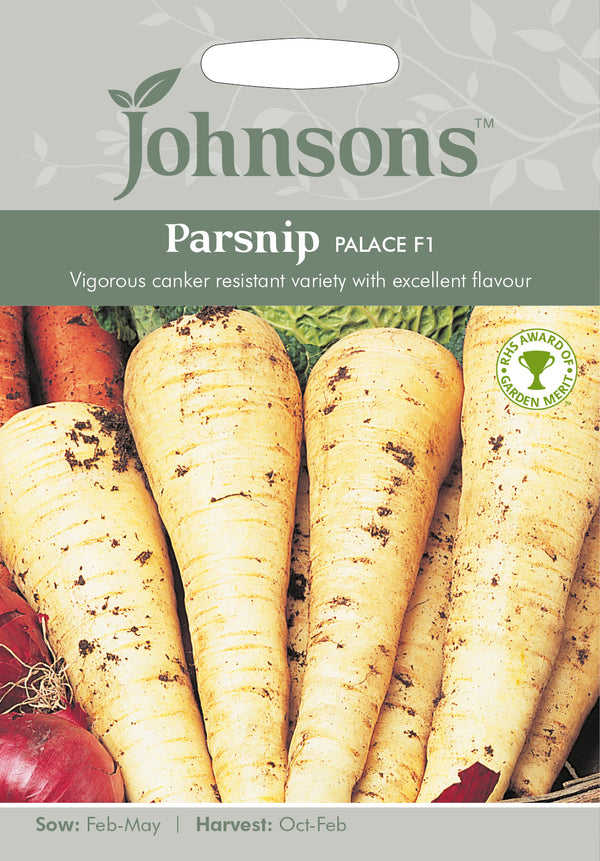 Johnsons 121039 Pastinaca sativa - Parsnip Palace F1