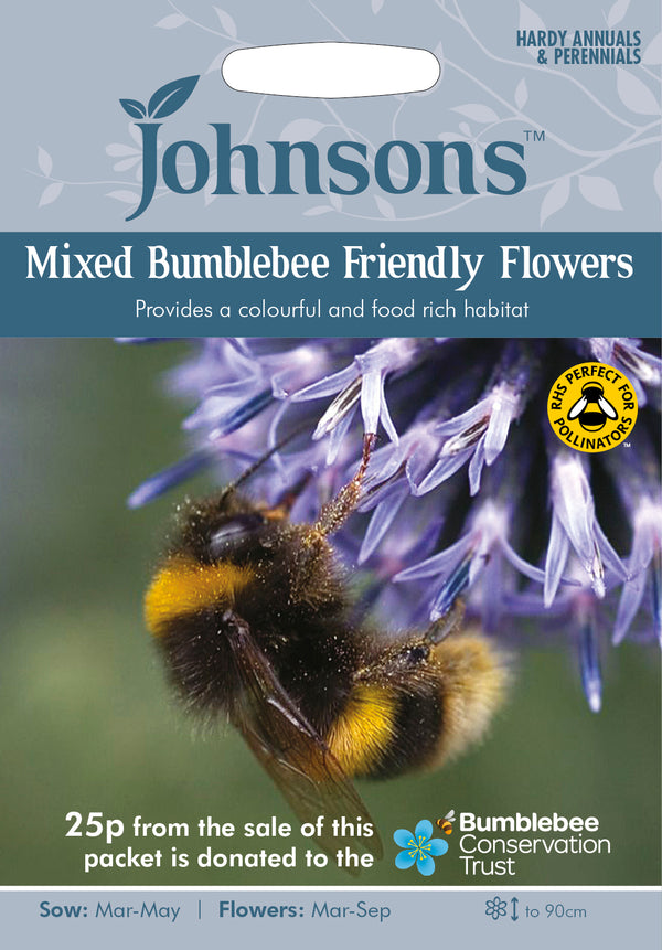 Johnsons 121040 Mixed Bumblebee Friendly Flowers