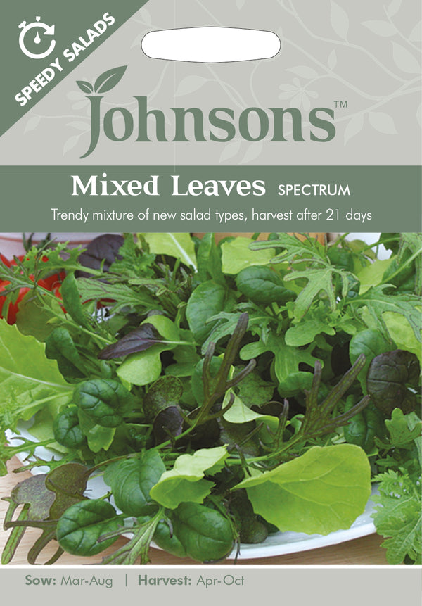 Johnsons 121063 Salad - Mixed Leaves 'Spectrum'