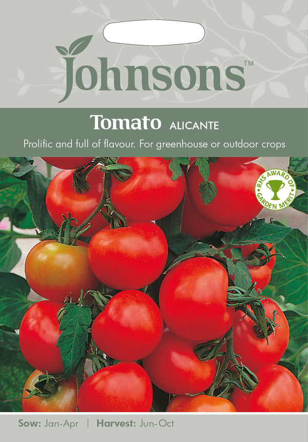Johnsons 121065 Lycopersicon lycopersicum - Alicante Tomato Seeds