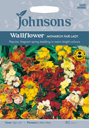 Johnsons 121114 Erysimum cheiri - Wallflower Monarch Fair Lady
