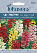 Johnsons 121150 Antirrhinum Majus - Antirrhinum Rust Resistant Mixed - Snapdragon