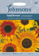 Johnsons 121176 Helianthus annuus - Sunflower Autumn Beauty