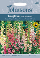 Johnsons 121179 Digitalis purpurea -  Foxglove Excelsior Mixed