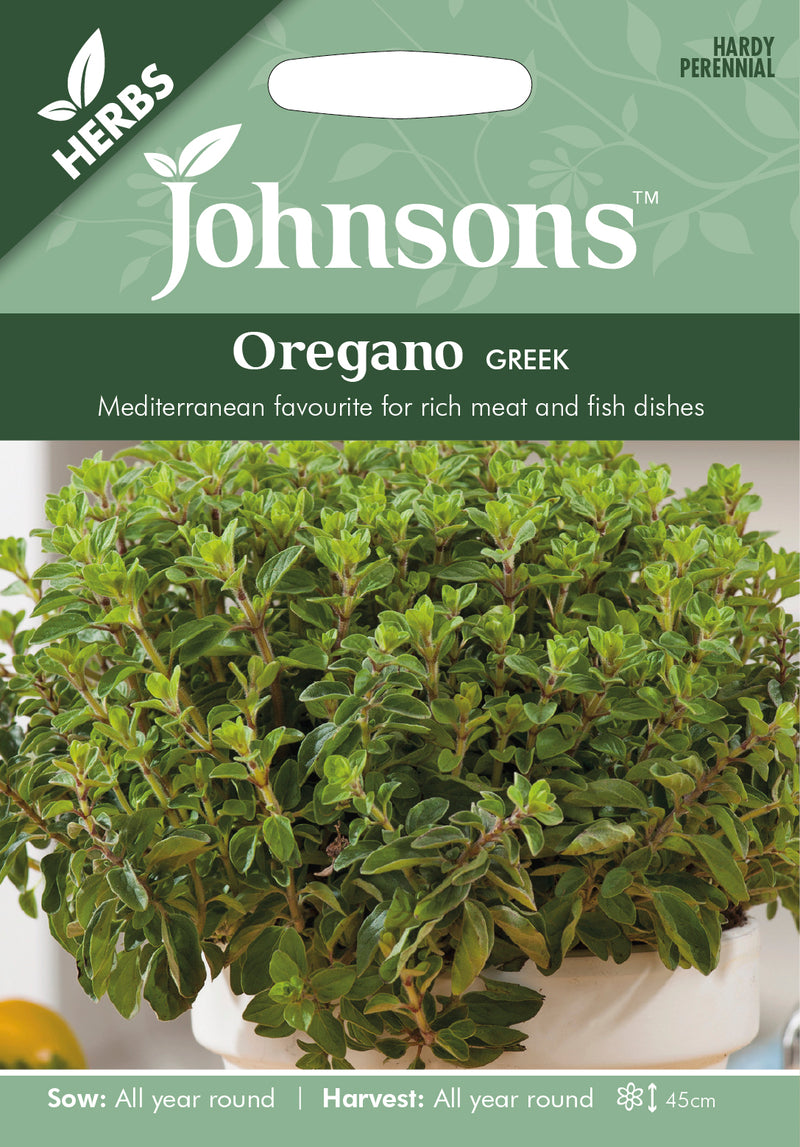 Johnsons 121211 Origanum vulgare - Oregano Greek