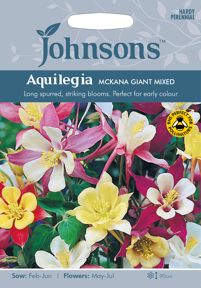 Johnsons 121218 Aquilegia. vulgaris - Aquilegia McKana Giant Mixed