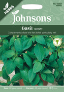 Johnsons 123525 Ocimum basilicum - Basil Lemon