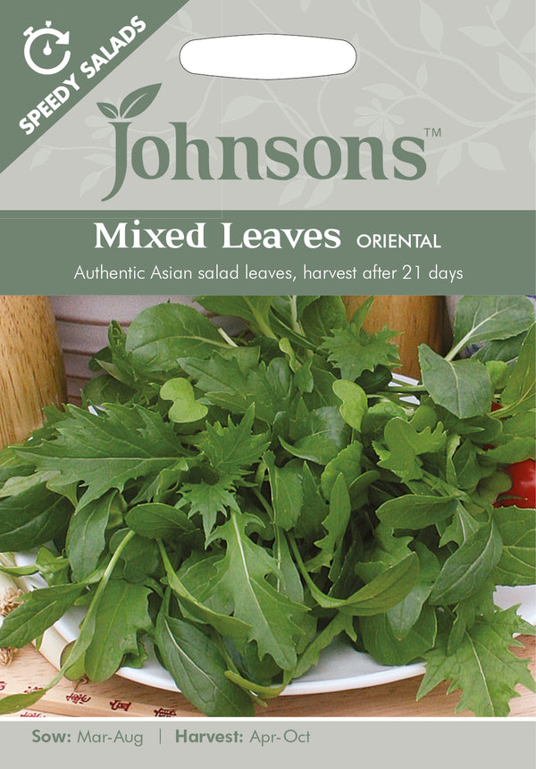 Johnsons 123613 Salad Mixed leaves 'Oriental'