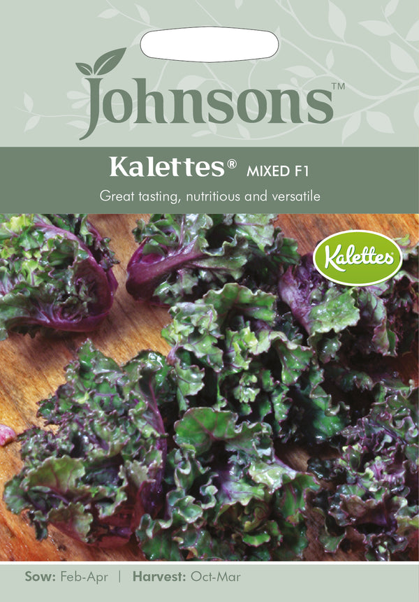 Johnsons 125033 Brassica oleracea var. gemmifera - Kalettes® Mixed F1