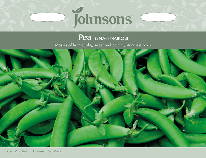 Johnsons 125034 Pisum sativum - Pea Snap Nairobi