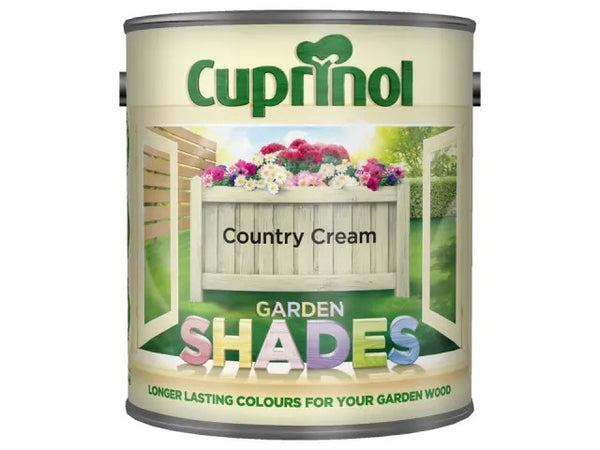 Cuprinol Garden Shades Country Cream 2.5 Litre 5092589