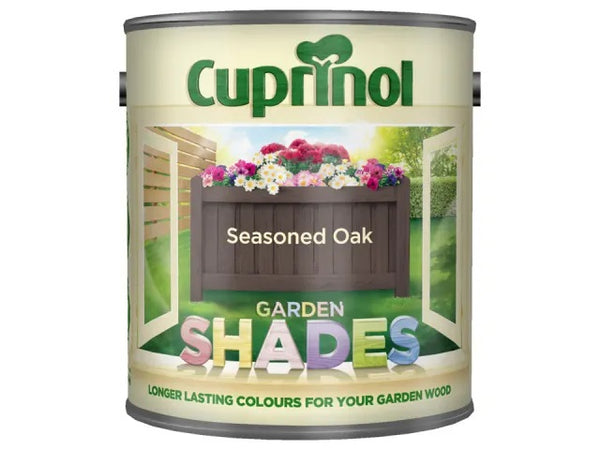 Cuprinol Garden Shades Seasoned Oak 2.5 Litres