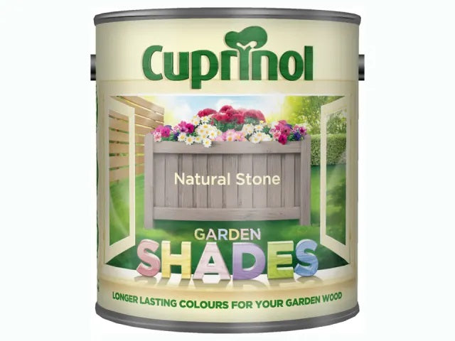 Cuprinol Garden Shades Natural Stone 2.5 Litres 5092612
