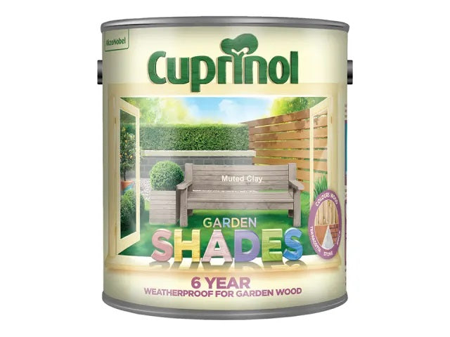 Cuprinol Garden Shades Muted Clay 2.5 Litre 5122397