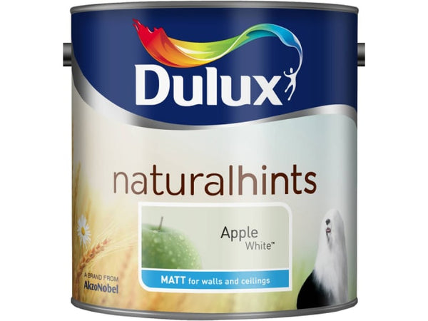 Dulux 5091706 Rich Matt Apple White 2.5L