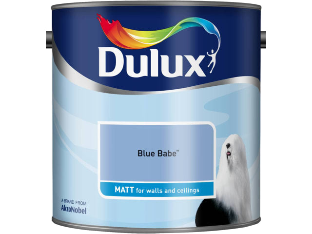 Dulux 5091754 Rich Matt Blue Babe 2.5L