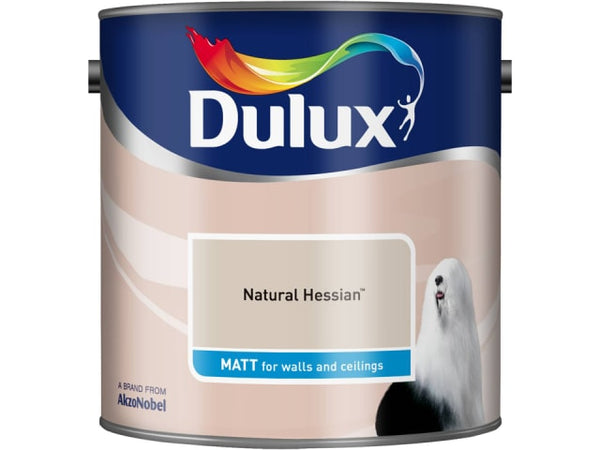 Dulux 5091735 Rich Matt Natural Hessian 2.5L
