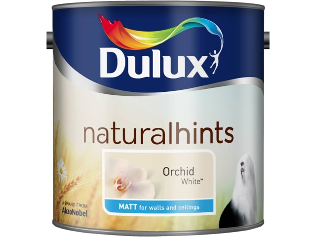 Dulux 5091708 Rich Matt Orchid White 2.5L