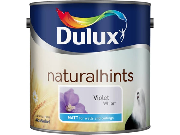 Dulux 5091728 Rich Matt Violet White 2.5L