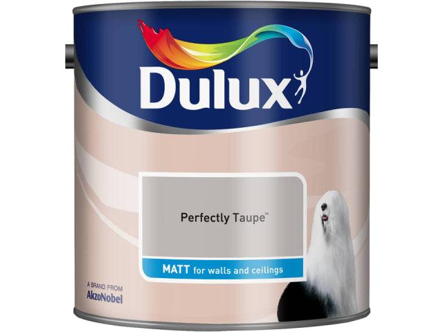 Dulux 5091838 Rich Matt Perfectly Taupe 2.5L