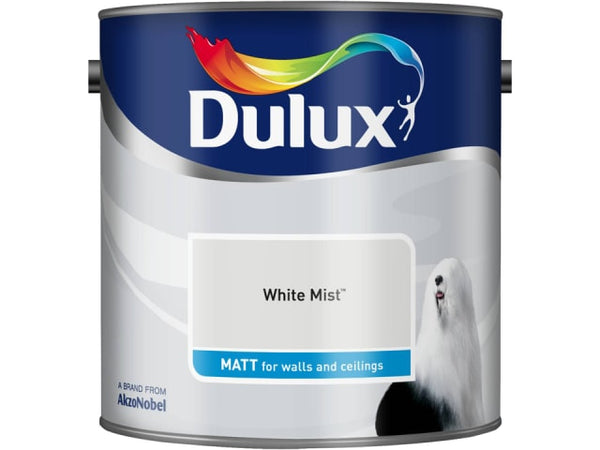 Dulux 5091854 Rich Matt White Mist 2.5L