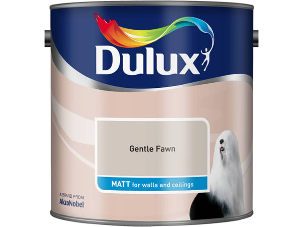 Dulux 5091787 Rich Matt Gentle Fawn 2.5L