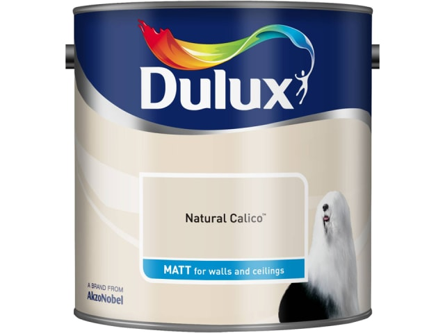 Dulux 5091730 Rich Matt Natural Calico 2.5L