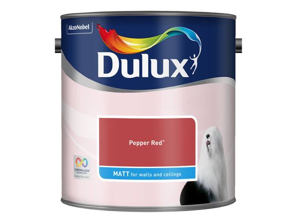 Dulux 5293072 Rich Matt Pepper Red 2.5L
