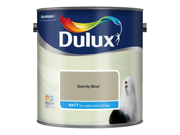 Dulux 5293107 Rich Matt Overly Olive 2.5L