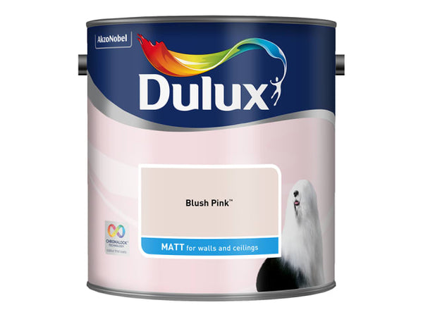 Dulux 5293077 Rich Matt Blush Pink 2.5L
