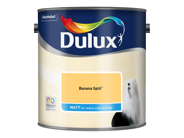 Dulux 5293074 Rich Matt Banana Split 2.5L