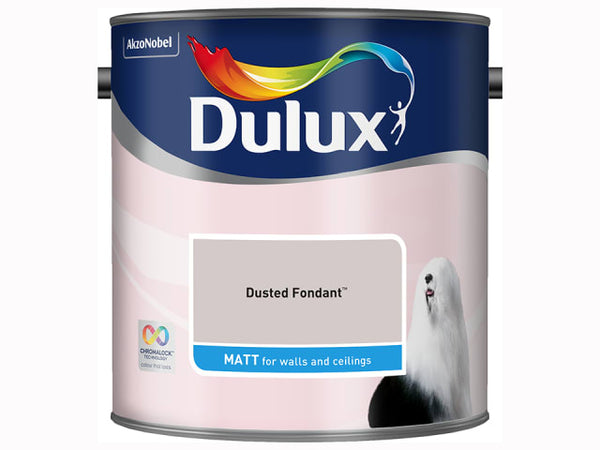 Dulux 5091860 Rich Matt Dusted Fondant 2.5L