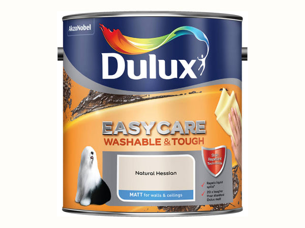 Dulux 5260792 Easycare Matt Natural Hessian 2.5L