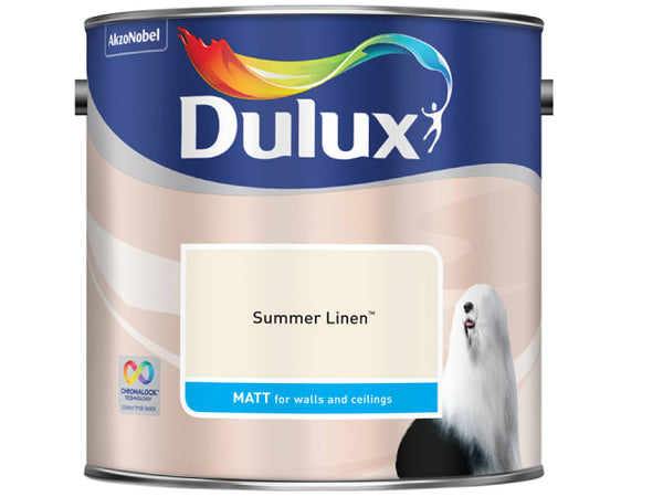 Dulux 524421 Rich Matt Summer Linen 2.5L