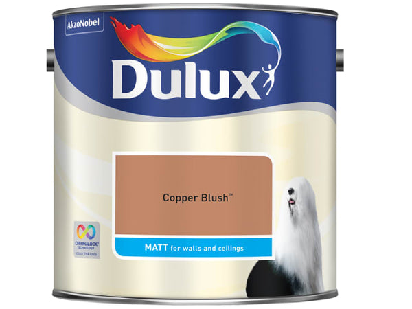 Dulux 5244216 Rich Matt Copper Blush 2.5L