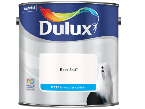 Dulux 5244219 Rich Matt Rock Salt 2.5L