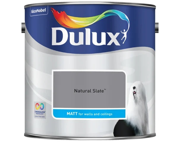 Dulux 5244251 Rich Matt Natural Slate 2.5L