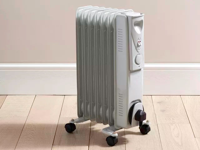 Daewoo Electrical Tall Oil Filled Radiator 1500W HEA1130