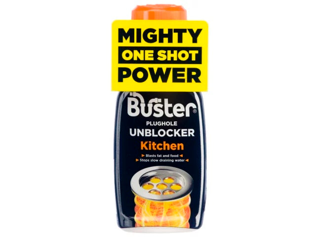 Buster 06132 Kitchen Plug Hole Unblocker One Shot 200g