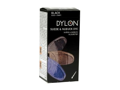 Dylon Suede and Nubuck Shoe Dye Black