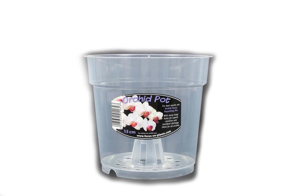 Growth Technology 15 cm Clear Orchid Pot