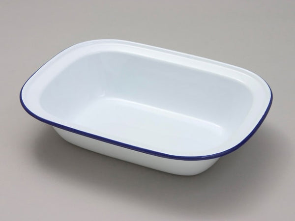 Falcon 44024 Oblong Pie Dish White 24cm