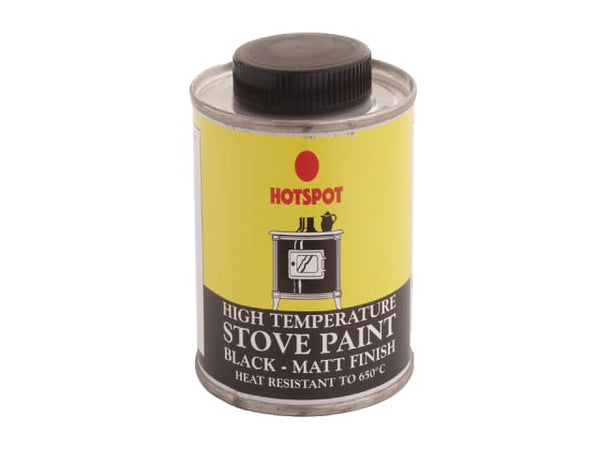 Hotspot 0014 Stove Matt Black Paint 200ml