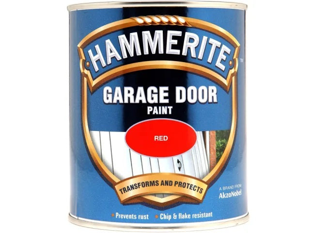 Hammerite Garage Door Enamel Red 750ml 5092852