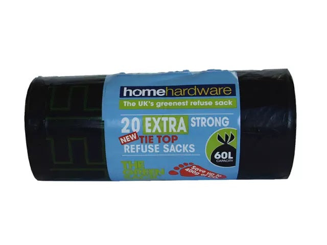 Homehardware Green Extra Strong Tie Refuse x 20