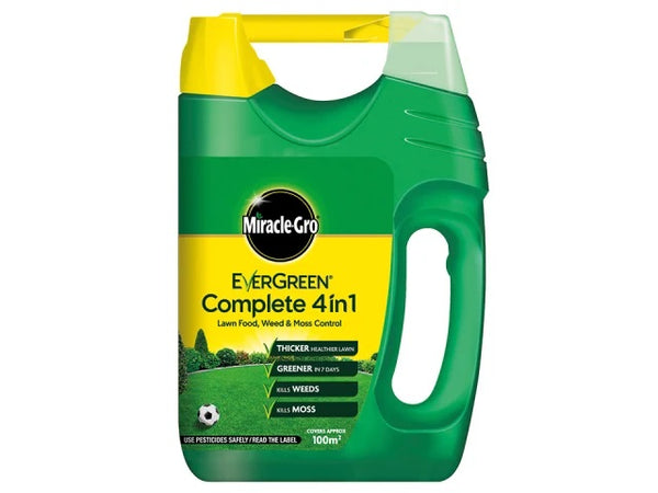 Miracle Gro Evergreen 4-In-1 360m2 + 10% 119692