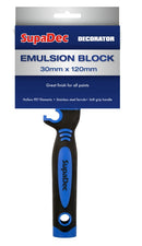SupaDec Emulsion Block Brush 30mm x 120mm